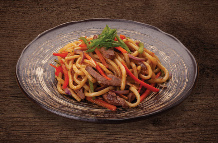 NOODLES WITH TENDER BEEF
